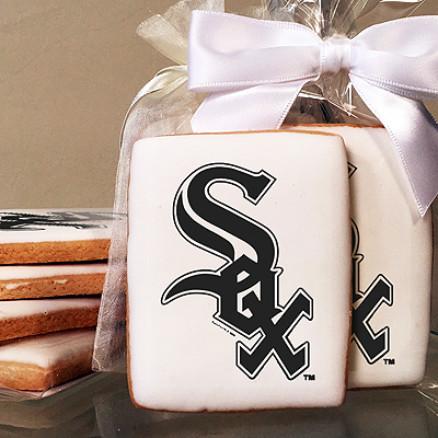 MLB Chicago White Sox Photo Cookies