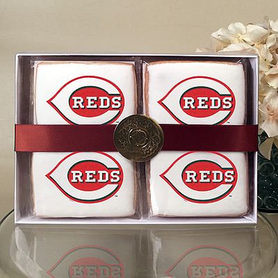 MLB Cincinnati Reds Cookie Gift Box