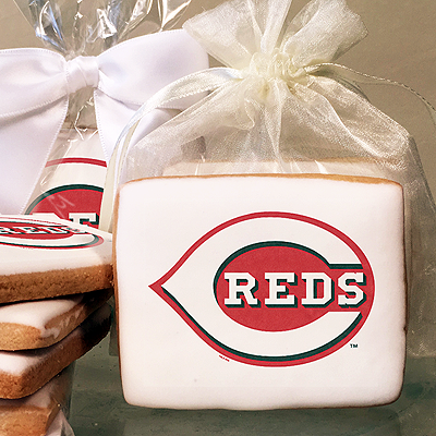 MLB Cincinnati Reds Photo Cookies