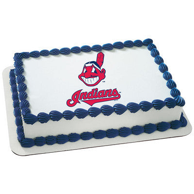 MLB Cleveland Indians Photo Cake