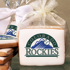 MLB Colorado Rockies Photo Cookies