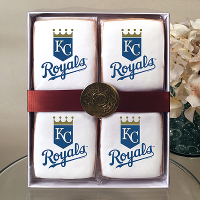 MLB Kansas City Royals Cookie Gift Box