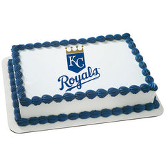 MLB Kansas City Royals Photo Cake