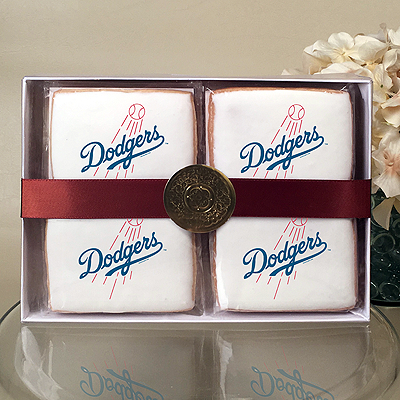 MLB Los Angeles Dodgers Cookie Gift Box