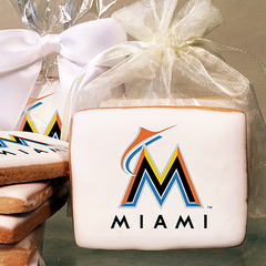 MLB Miami Marlins Photo Cookies