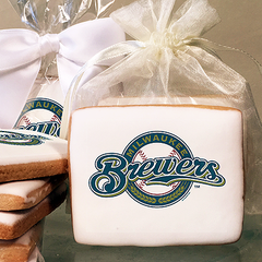 MLB Milwaukee Brewers Photo Cookies