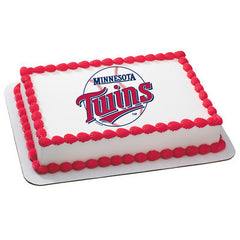 MLB Minnesota Twins Photo Cake