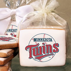 MLB Minnesota Twins Photo Cookies