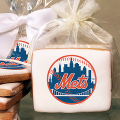 MLB New York Mets Photo Cookies