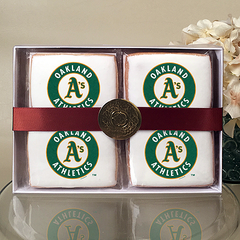 MLB Oakland Athletics Cookie Gift Box