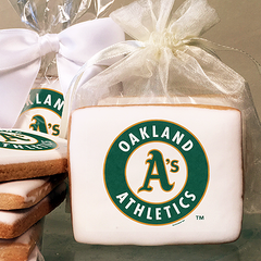 MLB Oakland Athletics Photo Cookies