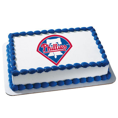 MLB Philadelphia Philles Photo Cake