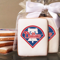 MLB Philadelphia Philles Photo Cookies
