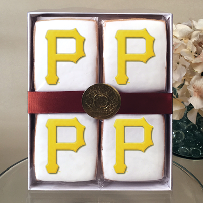 MLB Pittsburgh Pirates Cookie Gift Box