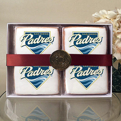 MLB San Diego Padres Cookie Gift Box