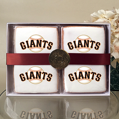 MLB San Francisco Giants Cookie Gift Box