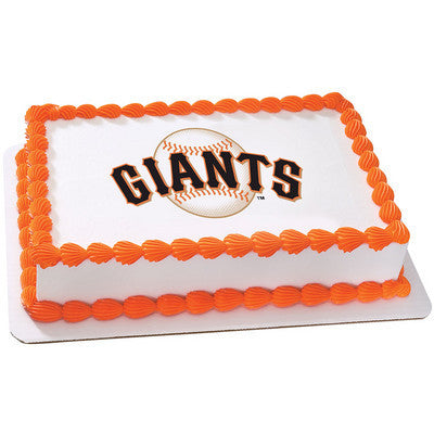 MLB San Francisco Giants Photo Cake