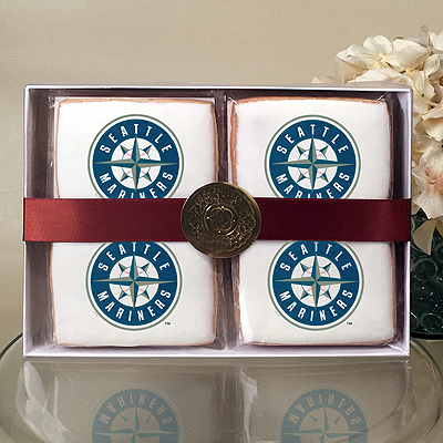 MLB Seattle Mariners Cookie Gift Box