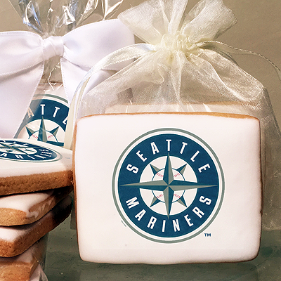 MLB Seattle Mariners Photo Cookies