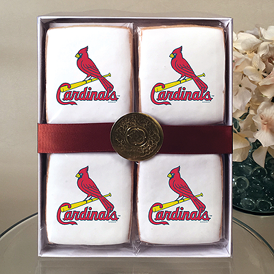 MLB St. Louis Cardinals Cookie Gift Box