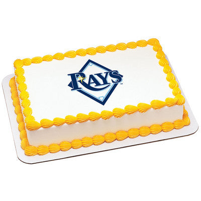 MLB Tampa Bay Rays Photo Cake