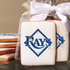 MLB Tampa Bay Rays Photo Cookies