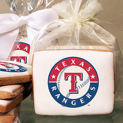 MLB Texas Rangers Photo Cookies