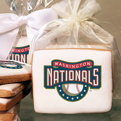 MLB Washington Nationals Photo Cookies