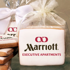 Marriott Executive Apartments Logo Cookies