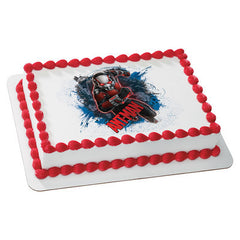 MARVEL Ant-Man Heist Photo Cake