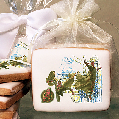 MARVEL Avengers Age of Ultron Vision  Photo Cookies