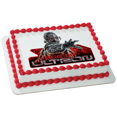 MARVEL Avengers Age of Ultron Photo Cake