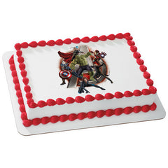 MARVEL Avengers Age of Ultron Initiate  Photo Cake