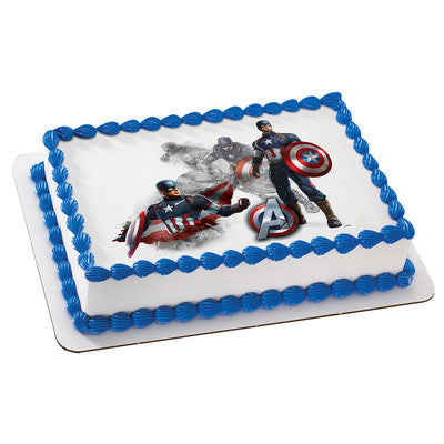 MARVEL Avengers Age of Ultron The First Avenger Photo Cake