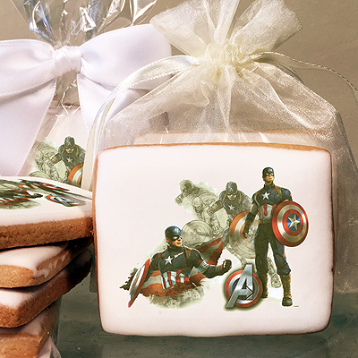MARVEL Avengers Age of Ultron The First Avenger Photo Cookies