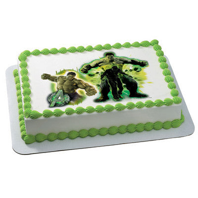 MARVEL Avengers Age of Ultron The Incredible Avenger Photo Cake