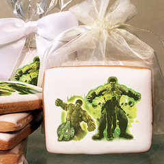 MARVEL Avengers Age of Ultron The Incredible Avenger Photo Cookies