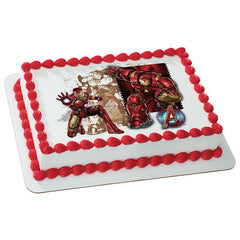 MARVEL Avengers Age of Ultron The Armored Avenger Photo Cake