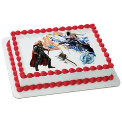 MARVEL Avengers Age of Ultron The Mighty Avenger Photo Cake