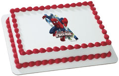 Spider-Man Ultimate Photo Cake