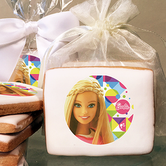 Barbie Sparkle Photo Cookies