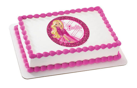 Barbie All Dolled Up  Photo Cake