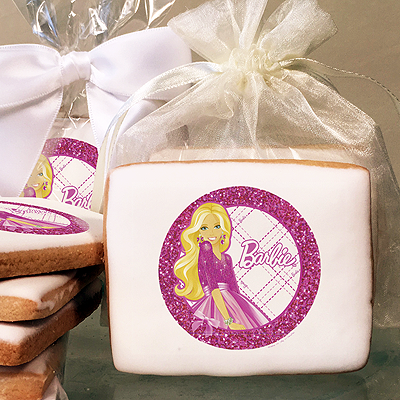 Barbie All Dolled Up  Photo Cookies