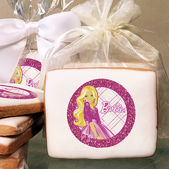 Barbie Cookie Favors