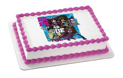 Monster High Be Yourself Photo Cake