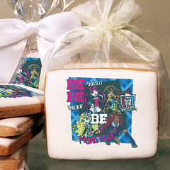 Monster High Be Yourself Photo Cookies