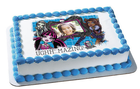 Monster High Ughh...Mazing Photo Cake