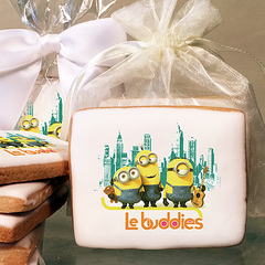Minions Le Buddies Photo Cookies