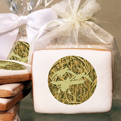Mossy Oak ShadowGrass Blades Silhouette  Photo Cookies