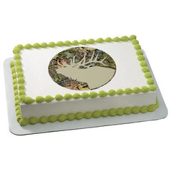Mossy Oak Obsession Silhouette Photo Cake